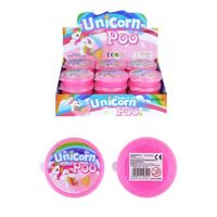 Unicorn Poo Pink Glitter Slime Putty Tub Squishy Stress Relief Toy Children's