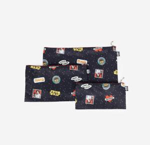 HARVEYS SEATBELT Star Wars Zip n Go Pouch Set / Disney Leia