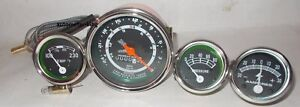New Ford Tractor 600 700 800 900 Instrument Gauge Cluster Kit Tachometer