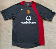 New 2005/06 Nike Manchester United Training Jersey M shirt vodafone ronaldo kit