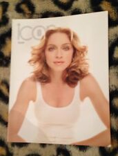 """Madonna """"icon"""" official fan club magazine no 34 From 2000 Very Rare Queen Of Pop"""