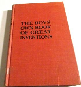 THE BOYS' OWN BOOK OF GREAT INVENTIONS 1959 hc  illus Floyd Darrow
