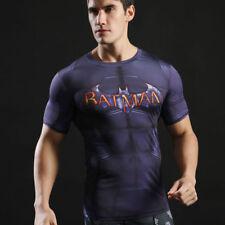 Marvel Superhéroe Camisa Hombre Compresión Camisetas Deportes Ejercicio