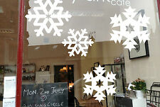 1 x Snowflake XMAS Snow Removable wall window Christmas Star Sticker Decal