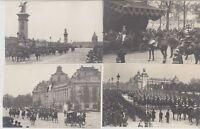 Great Britain Royalty Visit 1903 King Eduard VII Paris 35 Vintage Postcards
