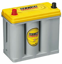 OPTIMA YELLOW TOP D51,ALPINE,DRY CELL,HYDRAULICS,MERCURY