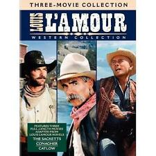 New The Louis LAmour Western Collection Sacketts Conagher Catlow DVD 2010 4-Disc