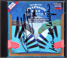 LABEQUE Signed GERSHWIN Rhapsody in Blue Lullaby Cuban An American Paris CHAILLY