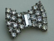 Diamante Vintage Costume Brooches/Pins (1980s)