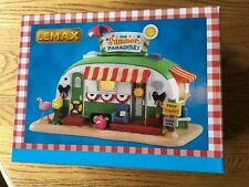 Lemax Our Summer Paradise  Lighted Trailer -Carnival/Train /Village