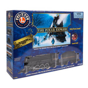 Deluxe Lights & Sounds Collectible Lionel The Polar Express Christmas Train Set