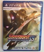 Dariusburst Chronicle Saviours CS Playstation Ps vita LR-V29 Rare Release NEW