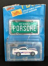 Hot Wheels 1988 Park'N Plates White Porsche 959 Nib