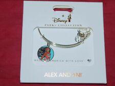 Disney Parks ALEX & ANI bracelet MOANA The Ocean Connects Us - silver tone - NEW