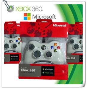 XBOX 360 WIRED CONTROLLER 100% FOR PC WINDOWS Microsoft X-BOX X 360