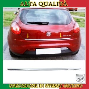 Striscia Cromata Portellone Bagagliaio Acciaio Cromo Fiat BRAVO 2006 e oltre