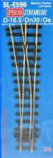 Peco On30 Scale Streamline Code 100 Track Section - Medium Radius Turnout LH