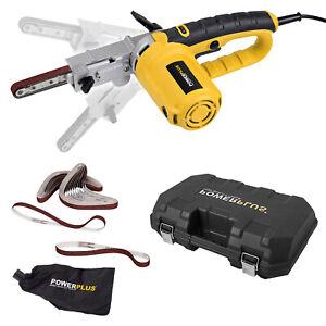 Schleifer Feile Powerfeile 400 watt Elektrofeile Bandschleifer Feinbandschleifer