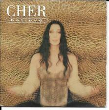 CD SINGLE 2 TITRES--CHER--BELIEVE--1998