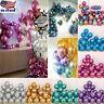 12'' Metallic Latex Balloon Wedding Birthday Party Balloons 10/20/50/100 Pcs US