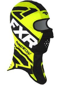 FXR COLD STOP RR Balaclava Face Mask Snow Snowmobile - BLACK / HI VIS - NEW