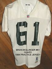 1994-Green Bay Packers Issued Starter Practice Jersey-Brian Bollinger -Size 50