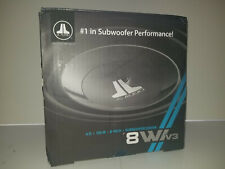 """JL AUDIO 8W1V3-4 CAR SUBWOOFER 4-OHM 8 """"DRIVER 150 WATTS RMS  FREE SHIPPING"""