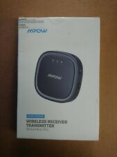 Mpow 2 in 1 Bluetooth 5.0 Receiver Transmitter Wireless Audio Adapter 12 Hours