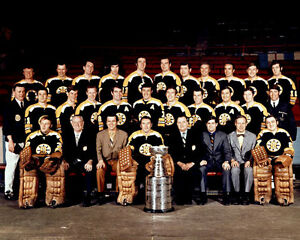 Boston Bruins 1970 Stanley Cup Champions 8x10 Photo