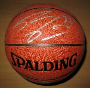 Shaquille ONeal Signed NBA Basketball COA Los Angeles Lakers Miami Heat