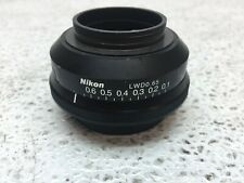 Nikon Lwd 065 Microscope Iris Only No Condenser Or Stage Good Condition