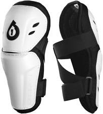 661 SIXSIXONE COMP ELBOW WHITE MX MTB BIKE BMX pads protectors arm guards 7013