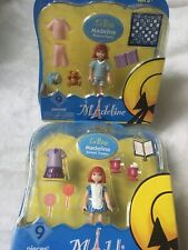 Lot Madeline La Petite New Sweet Treats Pajama Party Bear Mini Doll 9 Piece Each