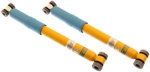 2-BILSTEIN SHOCK ABSORBERS,REAR,1988-1995 VOLVO 740,760,960,B6 36MM MONOTUBE,GAS