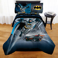 Batman Guardian Speed Kid Bedding Bed in a Bag Super Hero Bedroom Full Size New