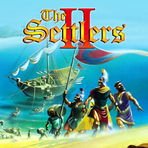 The Settlers 2 II - Kingdom Building Strategy Game - PC CD-ROM (Disc in Sleeve)