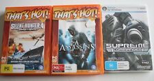 Assassin Creed Supreme Commander Silent Hunter Wolves of the Pacific PC Games X3