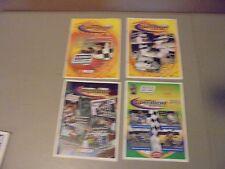 LOT OF 4 2002/2003 WATERFORD SPEEDBOWL CONN.RACING PROGRAMS.NASCAR,FEATHERLITE