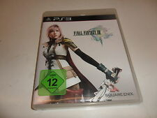 Playstation 3 ps 3 final fantasy xiii