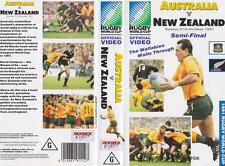 RUGBY UNION NEW ZEALAND  VS AUSTRALIA  1991  VIDEO VHS PAL~ A RARE FIND
