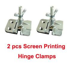 "2pcs Screen Printing Butterfly Hinge Clamps 2"" thickness perfect registration s"