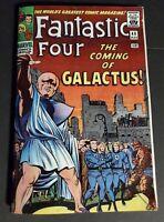 Fantastic Four #48 Silver Age Replica Edition ☆☆☆ 1st Galactus Silver Surfer 9.6