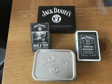 Brand New & Boxed Jack Daniels Playing Cards In Silver Tobacco Tin From 2006