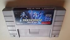 Rockman 7 Duel of Fate Rock Man Mega Super Nintendo SNES NRMT condition cart