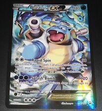 Blastoise EX XY Red-Blue XY122 Black Star FULL ART Promo NEAR MINT Pokemon Card