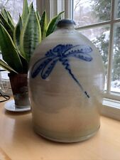 ROWE POTTERY WORKS 2004 HISTORICAL COLLECTION BEEHIVE HANDLED JUG 13 Inches Tall