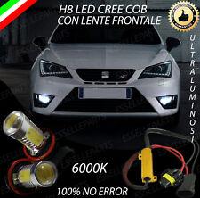 COPPIA LAMPADE FENDINEBBIA H8 LED CREE COB CANBUS SEAT IBIZA 5 V 100% NO ERROR