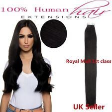 "Best Quality 22"" Tape-In 8A Premium Russian Remy Human Hair Extensions UK 1st"