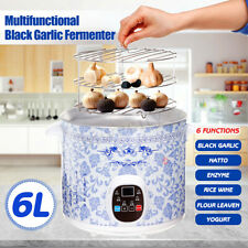 6L Multifunctional Black Garlic Fermenter 70W Natto Enzyme Yogurt Maker Machine