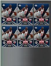 (6) 2006/07 Upper Deck Michael Jordan Houston All Star Selections #AS-5 Lot